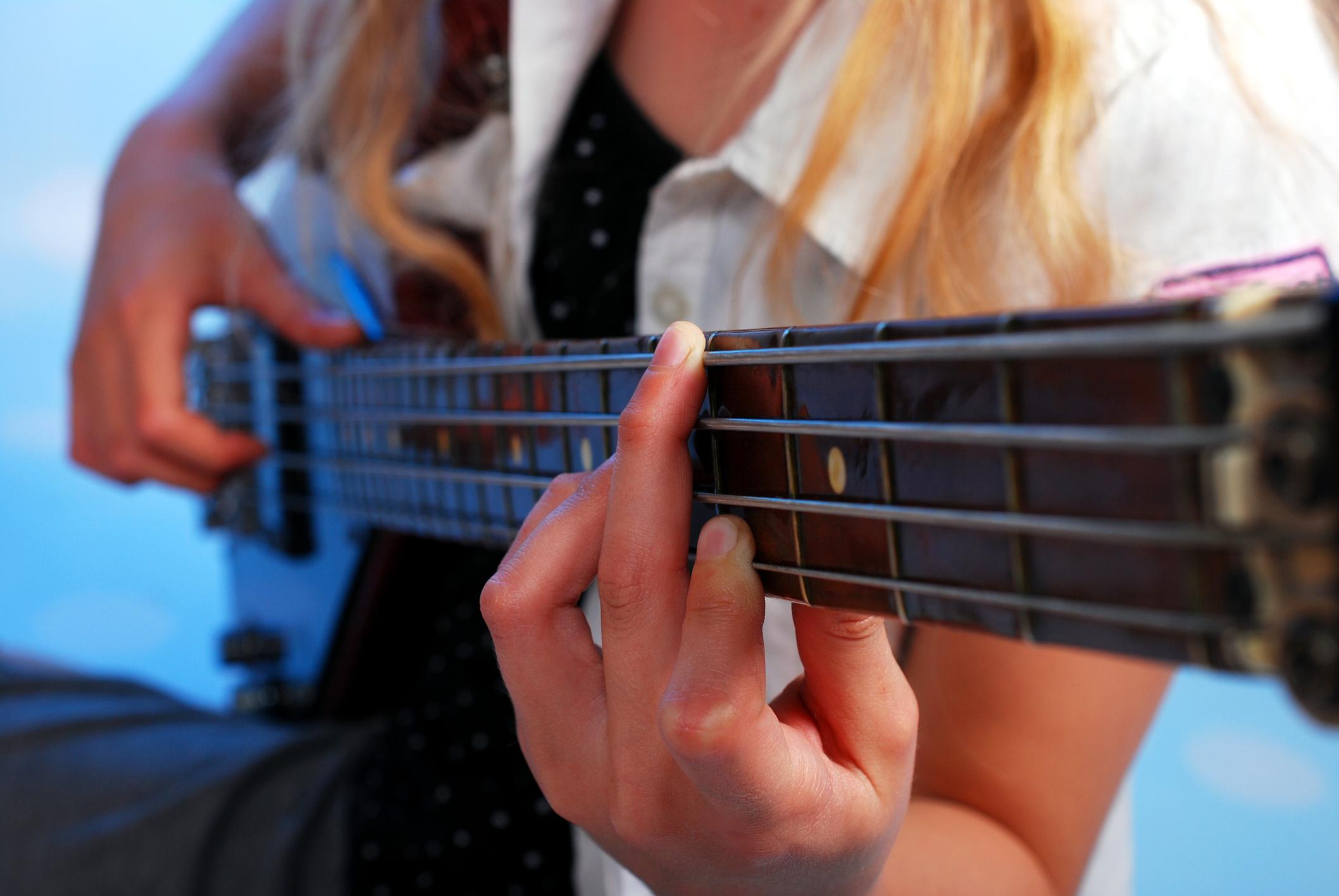 Free Bass Guitar Chord Chart