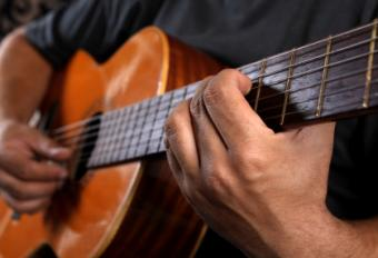 Left Hand Position for Classical Guitar