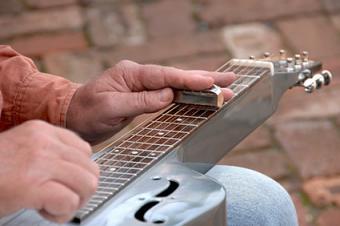 Steel guitar slide