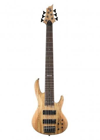 ESP LTD B-206SMNS Spalted Maple 6-String Bass