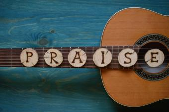 Gospel guitar music
