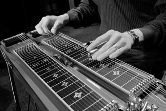 Playing a Steel Guitar