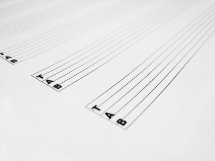 tablature simplifies sheet music