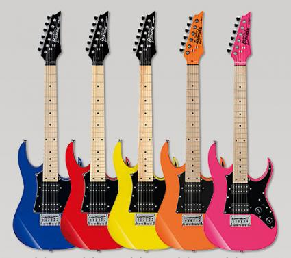 Ibanez Mikro electric guitars