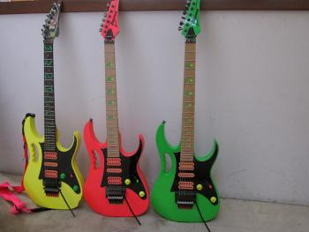 1987 Ibanez JEM guitars