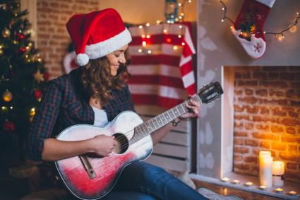 Christmas guitar tabs can be easy!