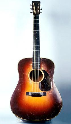 1934 Martin D-18 courtesy of VintageGuitar.com