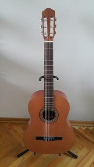 View Of Classical Guitar