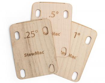 StewMac Neck Shims for Guitar