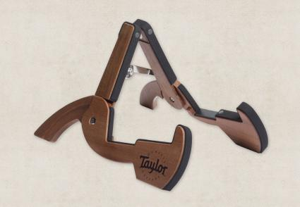 Taylor Travel Guitar Stand, Sapele