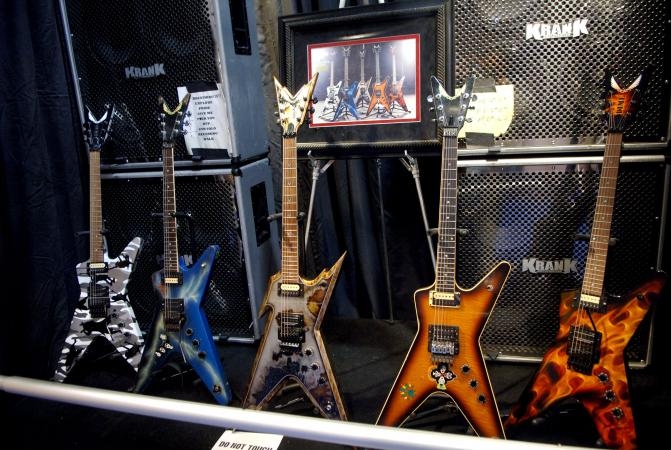 Dimebag Darrell Guitars