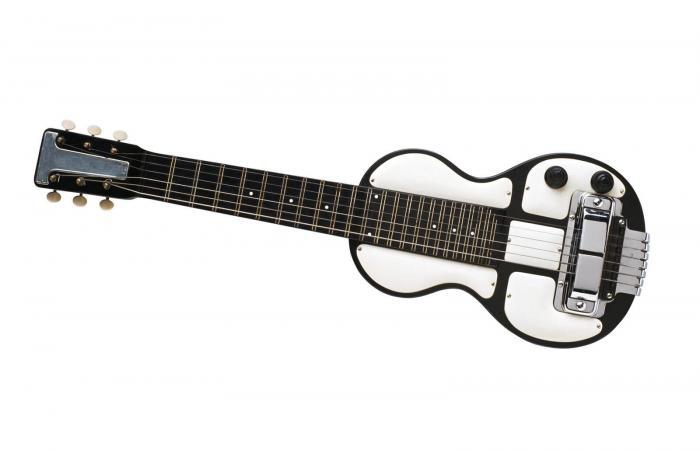 Vintage Steel Lap Guitar
