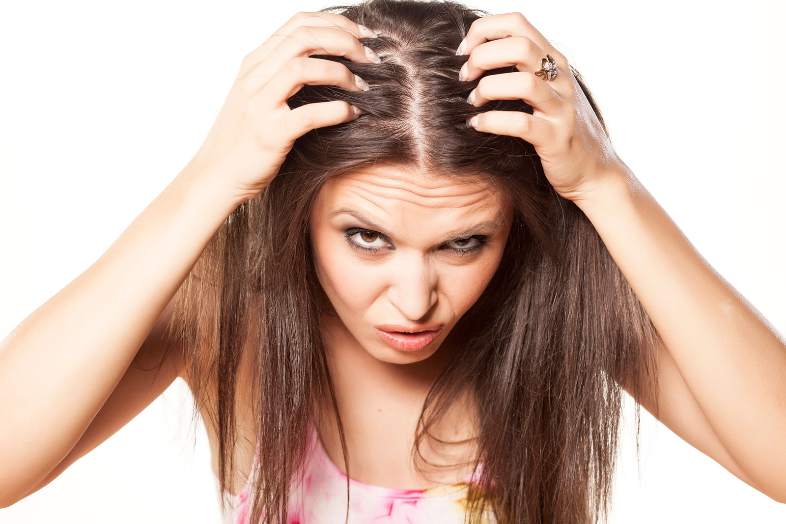 Hair Follicles Clogged By Sebum