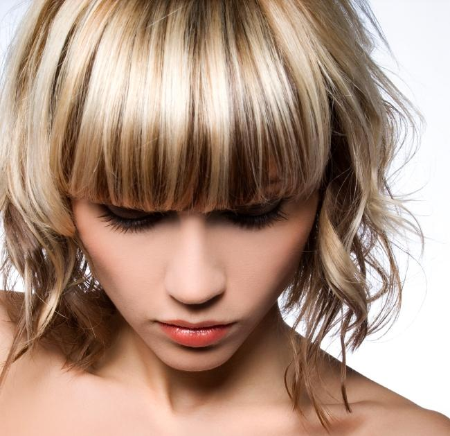 Hair highlights gallery lovetoknow hair with high and lowlights pmusecretfo Image collections