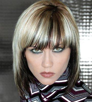 two tone hair color styles pictures of unique hair color ideas 3392