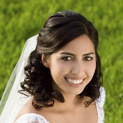 hair styles for curls wedding day hair styles 3914