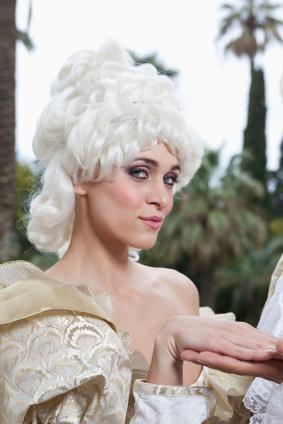 Marie Antoinette's bouffant.