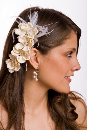 silk flower accessory