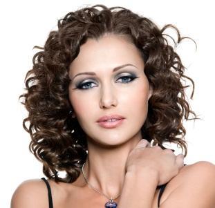 layered medium curls