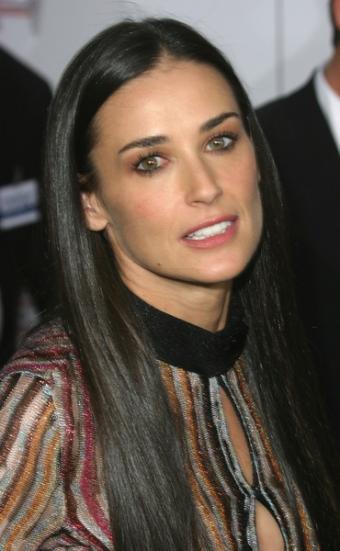 Demi Moore Hair Style
