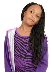 Long pixie braids