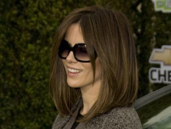 Kate Beckinsale's shoulder length layers