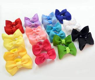 Toddler Ponytail Holders by Shailee Boutique on Etsy