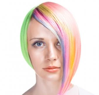 Using Hair Chalk to Add Color to Hair