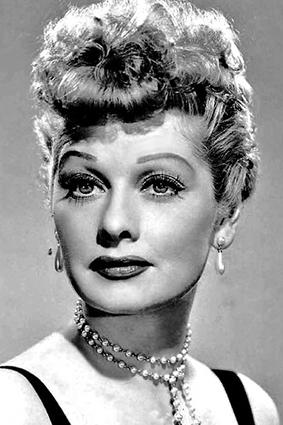 Lucille Ball poodle-do