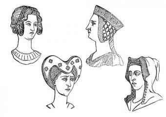 14th century ladies hairstyles