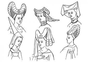 15th century headdresses