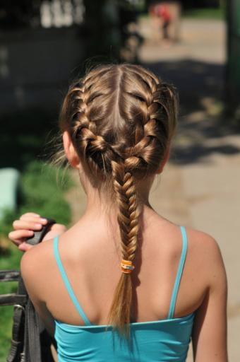 French to Fishtail Braid