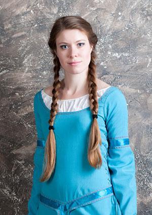 Viking braids hairstyle
