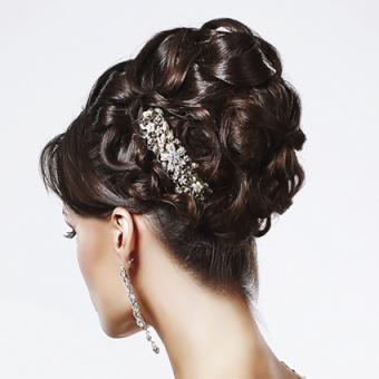 Rhinestone Hair Accessory