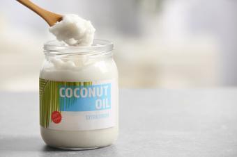 Fresh coconut oil