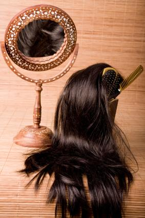 Hairpiece and mirror