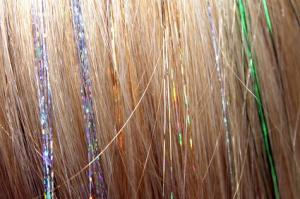 Flat Hair Tinsel