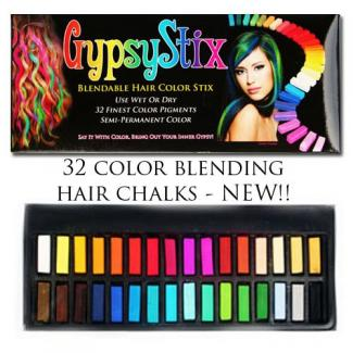 GypsyStix chalk hair color at Amazon.com