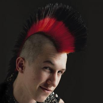 Black and Red Mohawk