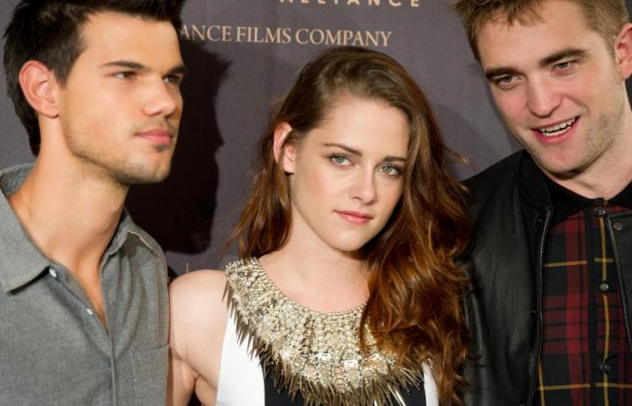 "Taylor Lautner, Kristen Stewart and Robert Pattinson ""The Twilight Saga: Breaking Dawn - Part 2"" Madrid Photocall"