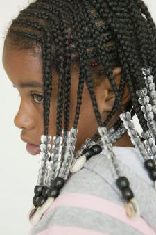 Beaded Cornrows