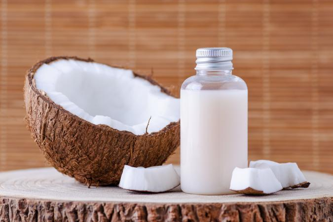 organic coconut for body care
