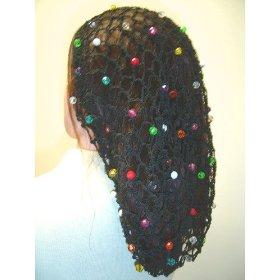 Classic Snood with Bright Beads
