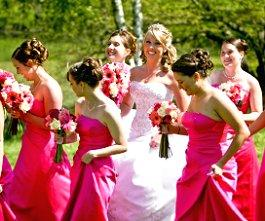 Wedding Party Hairstyle Pictures