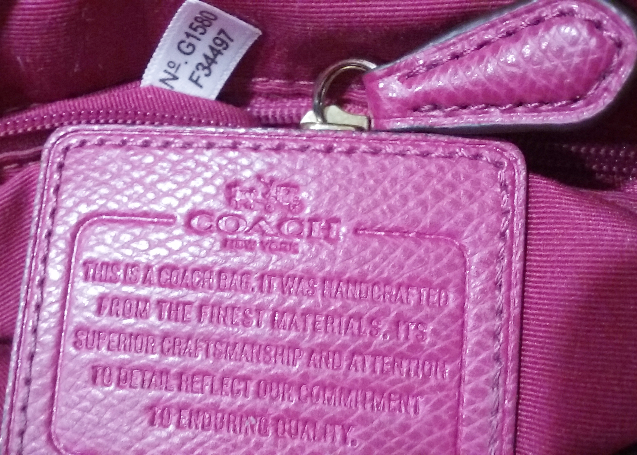 Coach Purse Serial Numbers  42ad1810501d3