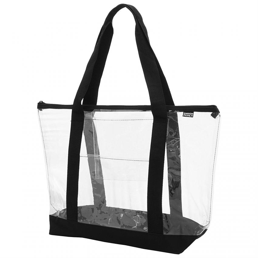 Plain Clear Tote On