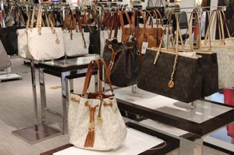 Michael Kors Handbag Fashion Store Spring 2014 Collection.