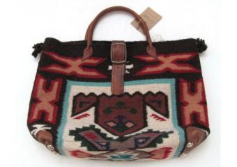Two Bar Southwestern Style Handbag