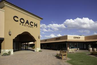 Shopping at Coach Outlets