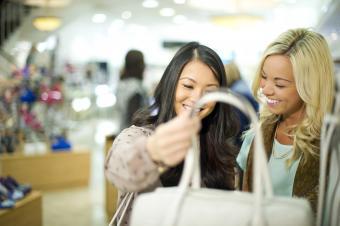 shopping for handbags